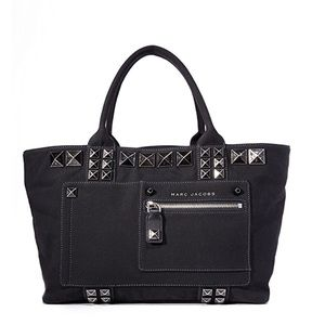 Marc Jacobs chipped stud canvas tote NWOT
